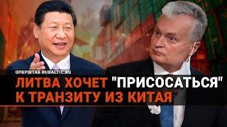 «Присосаться» к России и Китаю: в Литве придумали, как спасти железную дорогу!