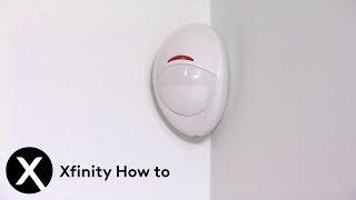 XFINITY Home Battery Replacement: Visonic Motion Sensor