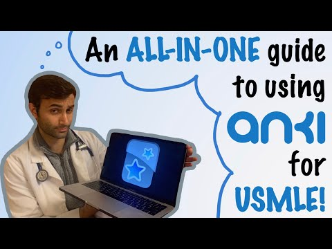 How To REALLY Use Anki (USMLE Prep, Med Student, MCAT, College Classes)