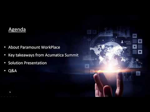 Acumatica ERP Consultant:  Procurement Automation, Manage Spend Before It Starts