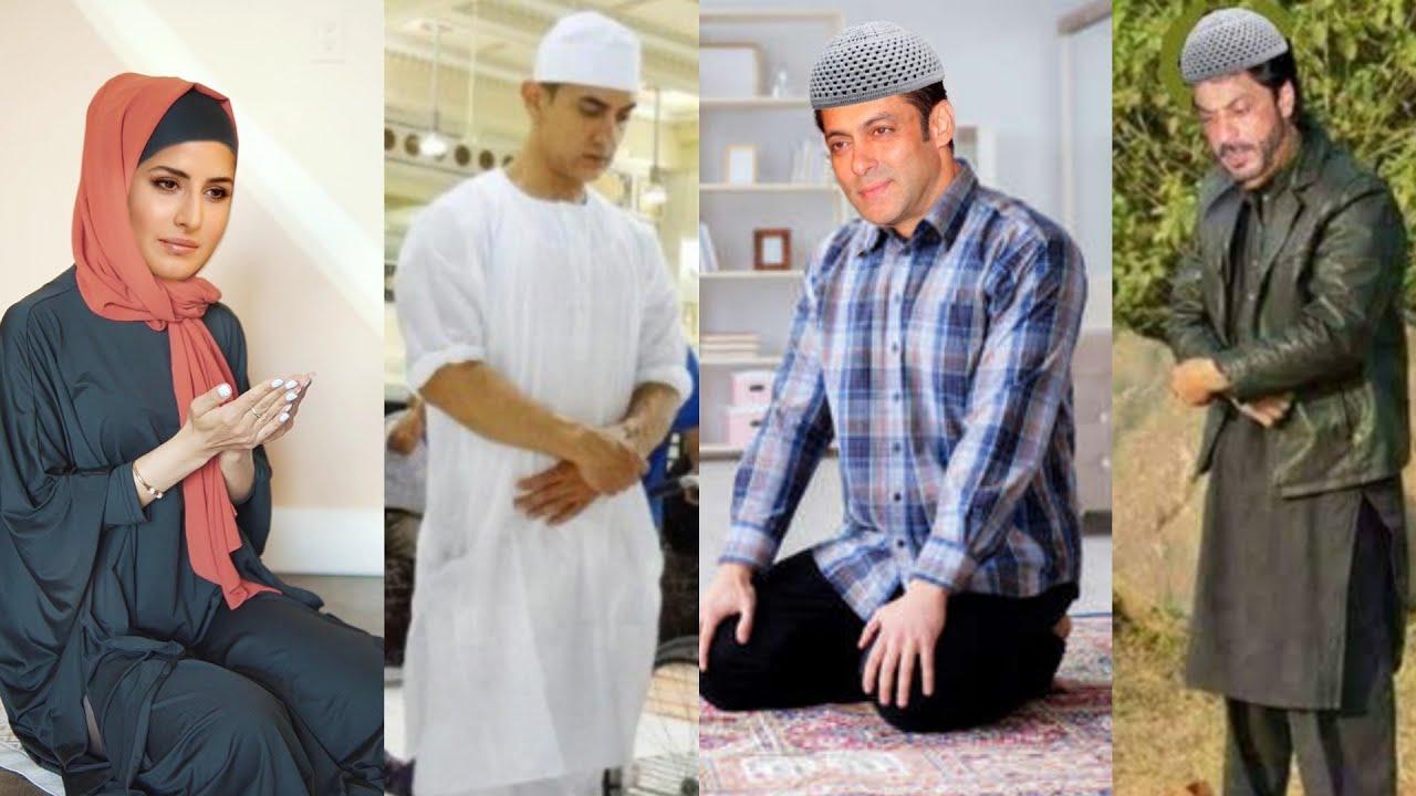 Bollywood Actors Offering Namaz of Eid-Ul-Fitr at Home in Lockdown | Katrina kaif, Salman, Shahrukh