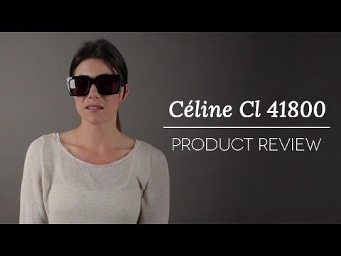 665f62268f2 Celine Graphic Sunglasses CL 41800 Review - YouTube