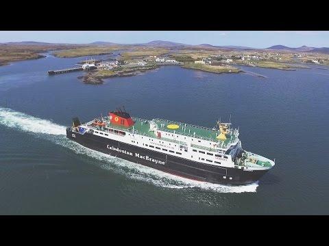 Hebrides ferry at Lochmaddy North Uist