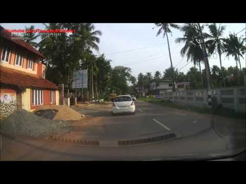A drive from Kothamangalam to Muvattupuzha - Kerala - India