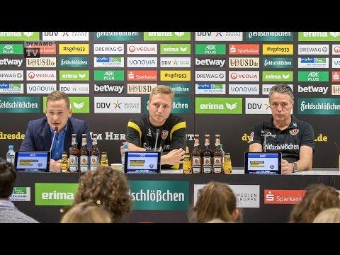 13. Spieltag   SGD - SGF   Pressekonferenz vor dem Spiel