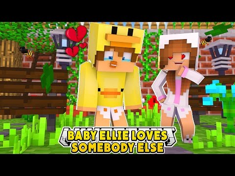 BABY ELLIE IS IN LOVE WITH SOMEBODY ELSE!! Minecraft Date - Baby Duck Adventures