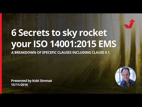 6 secrets in clause 9.1 that will sky rocket your Environmental Management System!
