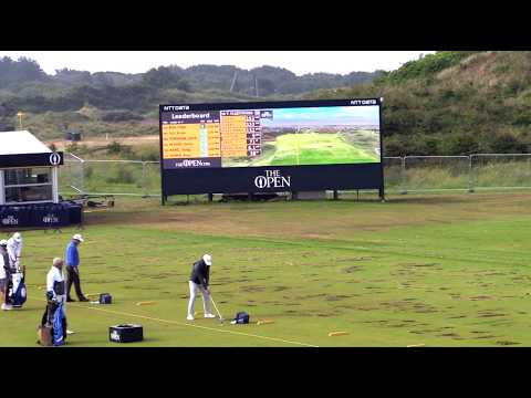 Tommy Fleetwood | ProTracer Practice Range Stingers | The Open 2017 | Royal Birkdale GC