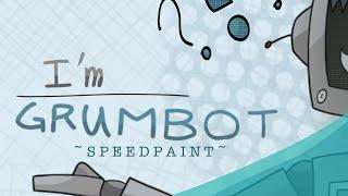 Grumbot Speedpaint // Hermitcraft Season 7 Fanart
