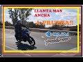 LLANTA MAS ANCHA PULSAR 200NS Parte 2