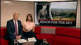 Charley Bickers Douglas Bader's Grandson First Flight In Spitfire BBC News