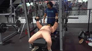 Happy Halloween / 100 Rep Bench Challenge (with a twist)