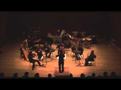 "ERGON ENSEMBLE - Kamran Ince's ""Dreamlines"" (2008) for chamber ensemble"