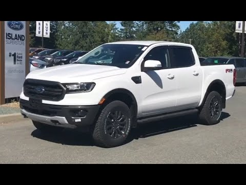 2019 Ford Ranger Lariat 501A 2.3L Supercrew Review| Island Ford