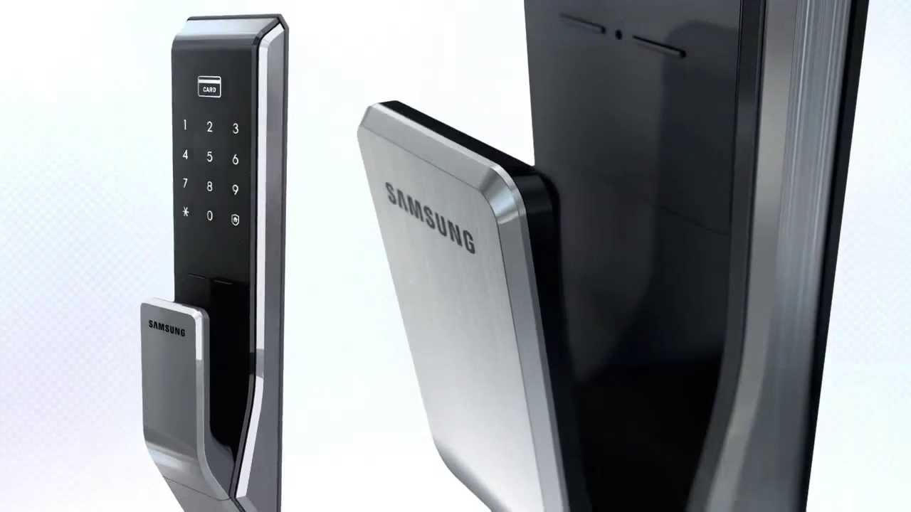 Samsung Push Pull Door Lock Youtube