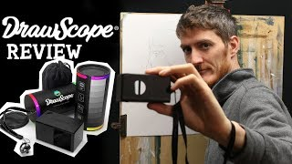 Can this Device change the WAY you DRAW and PAINT ??! REVIEW of the DRAWSCOPE