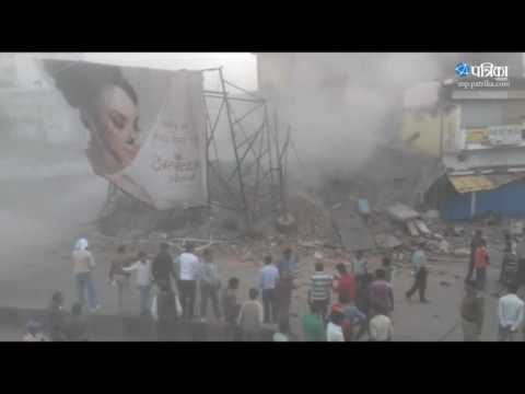 Exclusive Video | Illegal buiding demolished by nagar nigam jabalpur