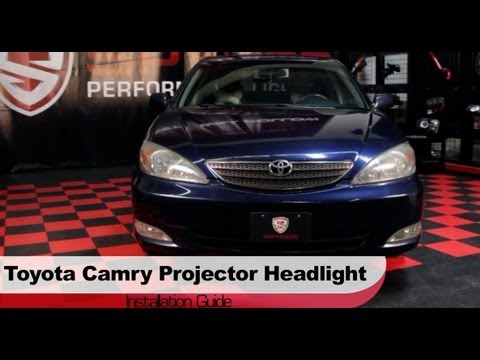replace 2002 2006 toyota camry headlight bulb how to doovi. Black Bedroom Furniture Sets. Home Design Ideas
