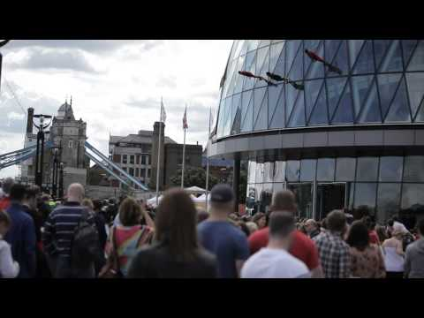 London 2012 Cultural Olympiad - Surprises STREB | One Extraordinary Day by CraneTV
