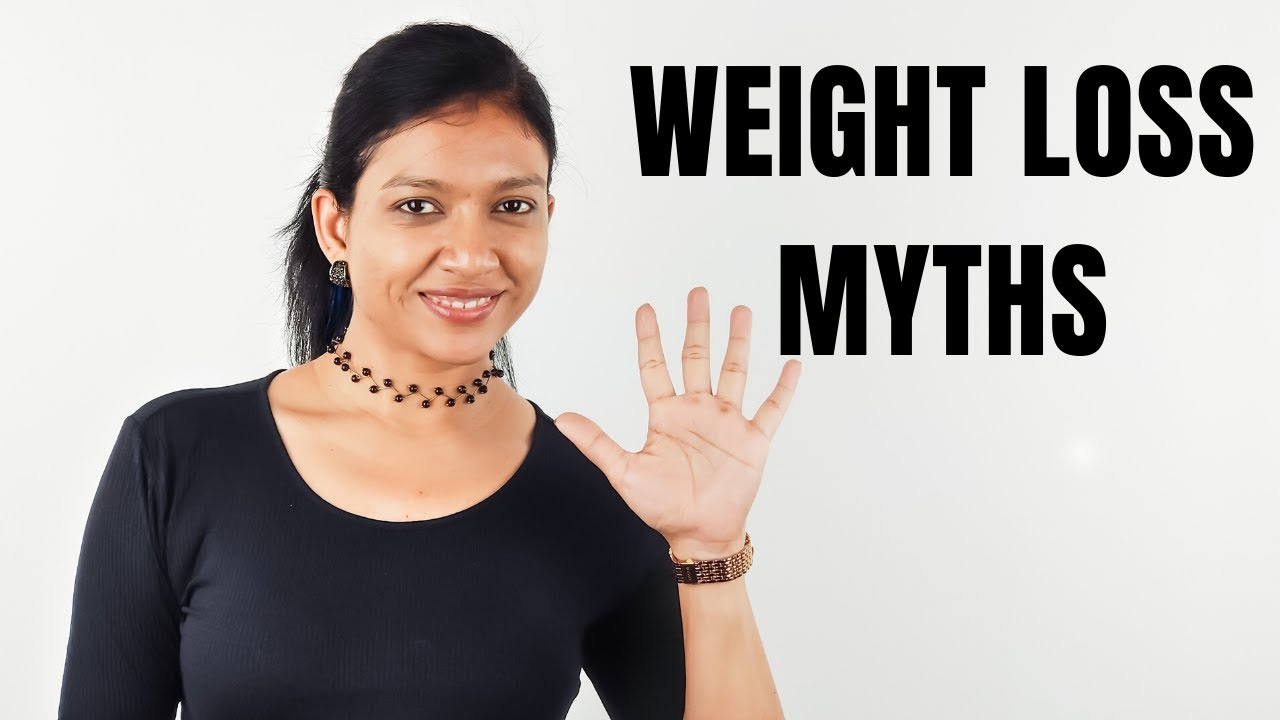 5 Biggest Weight Loss MYTHS you need to STOP Believing!