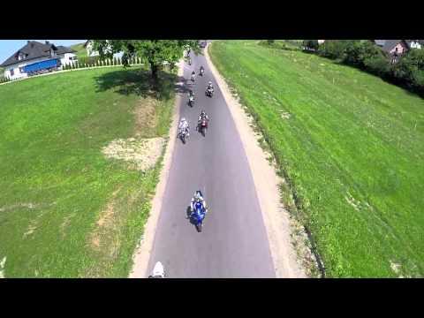 X Festyn Parafialny Słopnice - Parada motocyklowa