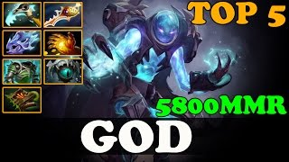 Dota 2 - GOD #5 Dotabuff Arc Warden 5800MMR - Ranked Match Gameplay