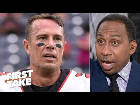 The Falcons never recovered from collapsing in the Super Bowl - Stephen A. | First Take