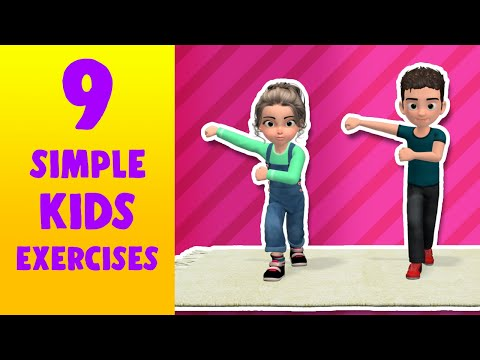 9 Simple Kids Exercises To Do At Home