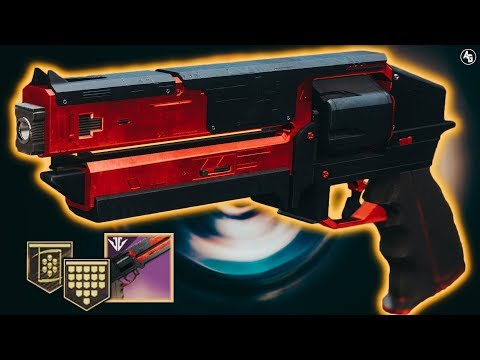 Kindled Orchid Hand Cannon (Forge Weapons) | Destiny 2 Black Armory