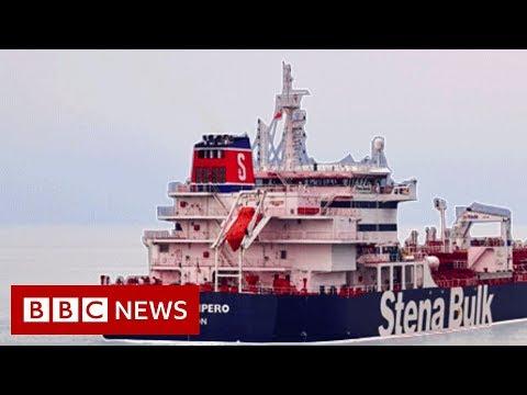 Iran tanker seizure: Radio exchanges reveal Iran-UK confrontation - BBC News