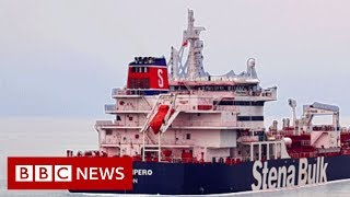 Iran tanker seizure: Radio exchanges reveal Iran-UK confrontation - BBC News