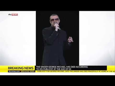 LAST FOOTAGE: GEORGE MICHAEL DEATH DURING CHRISTMAS HOLYDAY !!! (George Michael is dead today 25/12)