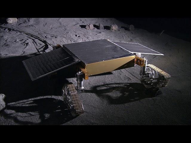 V100000198_SELENE-2ローバー試験モデル走行の様子