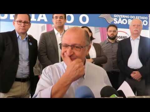 Geraldo Alckmin Afirma! Presidente 2018 Candidatissimo
