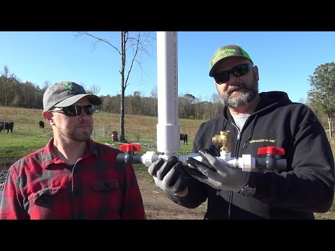 Using gravity to pump water nonstop without power! Full water system install!