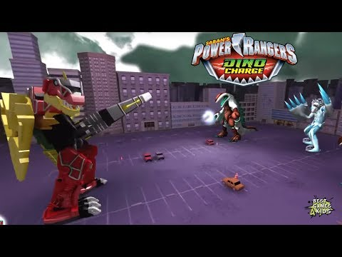Power Rangers Dino Charge Rumble   THAWFUL VENGEANCE Challenge! By StoryToys Entertainment
