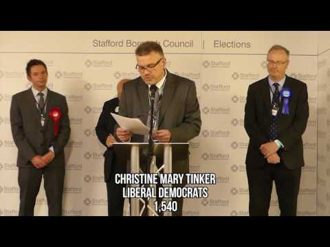 2017 General Election - Stafford Declaration