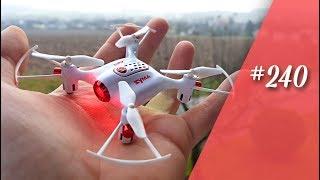 Syma X20 die beste  mini Drohne ?  // China in the box // in 4K #240