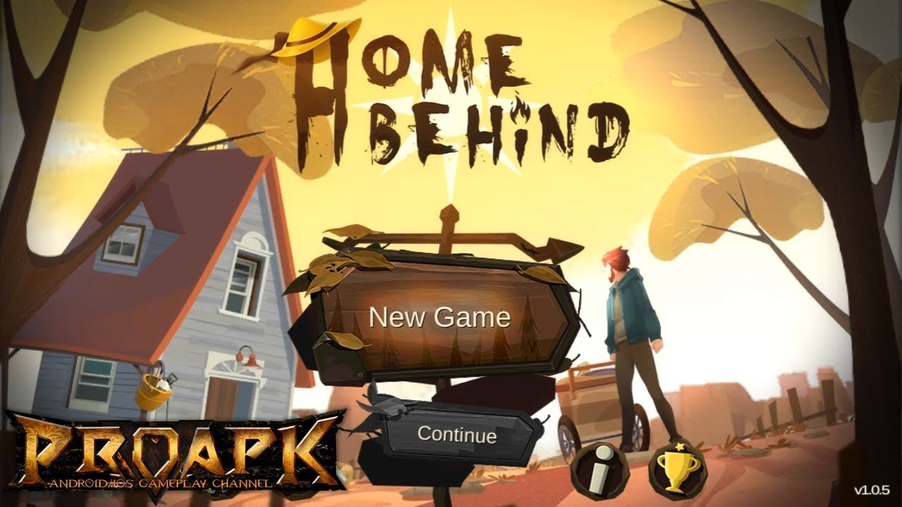 Home Behind Gameplay Android / iOS (Offline Survival Game)