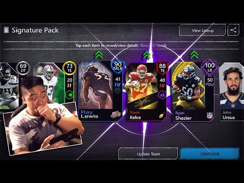 Madden Mobile 20 Evolution 100 OVR Player| Signature Pack Opening & Field Of Fear Info 88 OVR PULL!