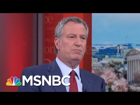 Bill De Blasio: President Donald Trump Has Said To My Face NYC Is A Safe City | Morning Joe | MSNBC