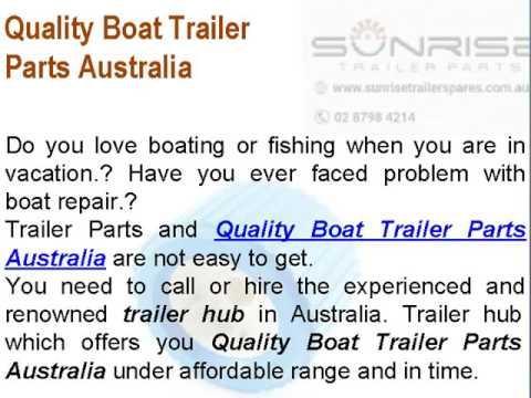 Get The Best Trailer Parts & Leaf Spring Sydney Australia