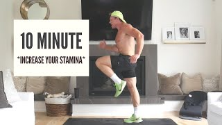 HOW TO RUN LOΝGER - Home Workout to IMPROVE STAMINA