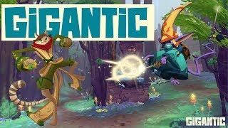 Playing Close Quarters - Gigantic Gameplay  Mozu