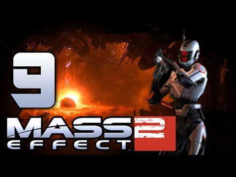 Girl Tries Mass Effect 2 - 9 (Exploring the Eagle Nebula)