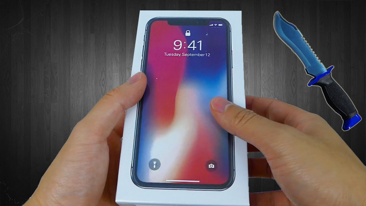iPhone X (256GB) Clone Unboxing and Review!