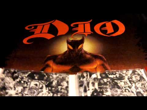 DIO Holy Diver Two Discs Deluxe Edition (2012 UK only) Unpackaging