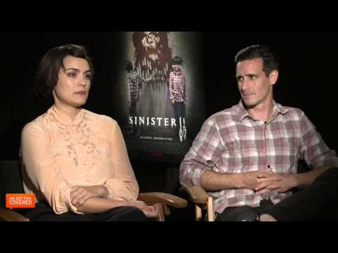 Exclusive Interview: James Ransone And Shannyn Sossamon Talk Sinister 2 [HD]