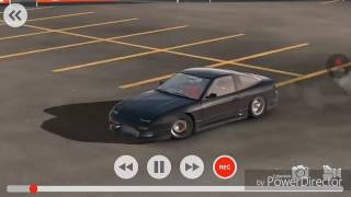 Car X Drift Racing new update.Using Nissan 240SX in new map