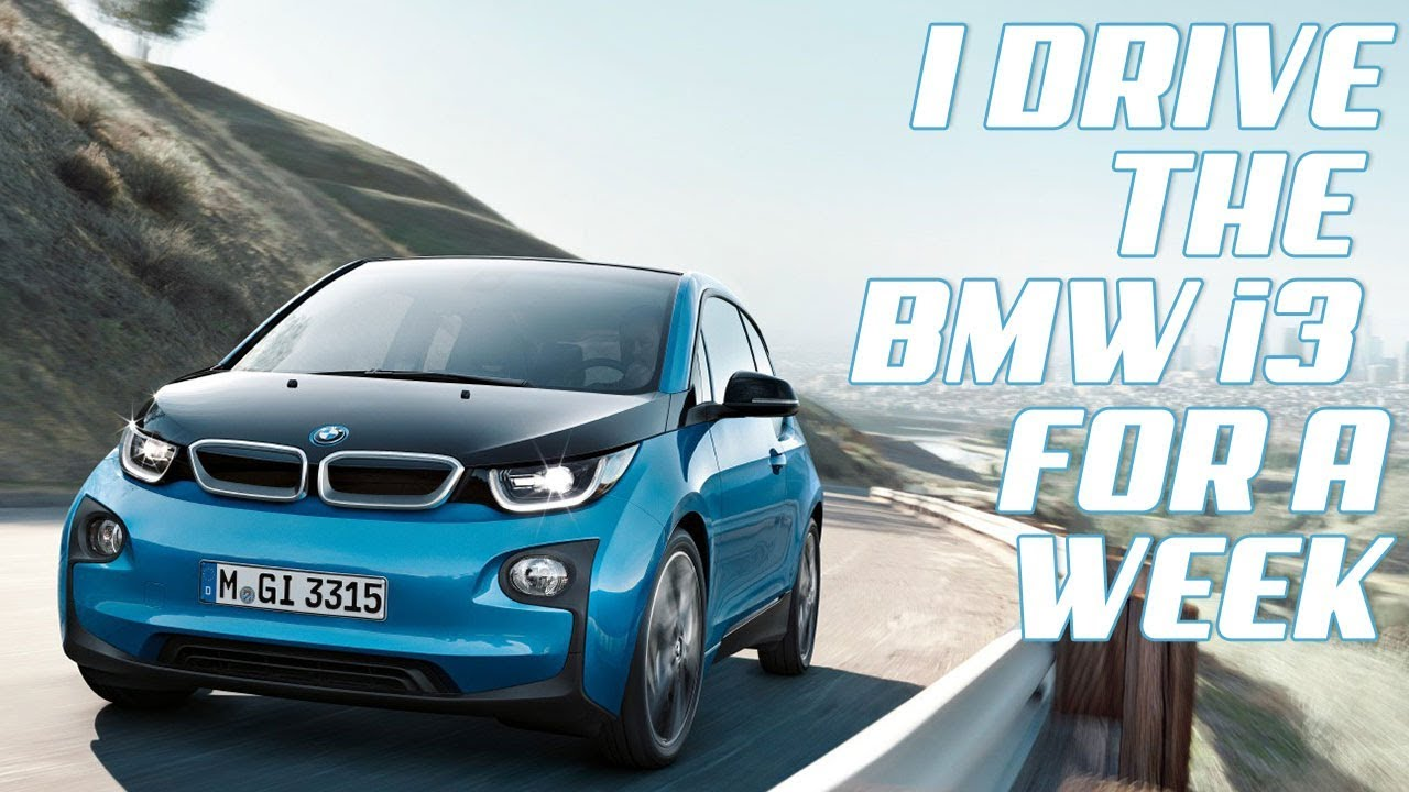 I Drive The Bmw I3 Electric Vehicle For A Week Youtube